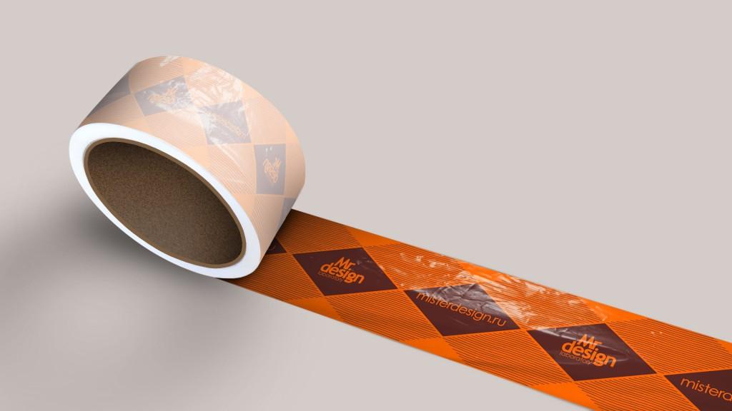 Tape Logo MockUp